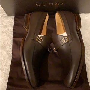 4e6af55a3 Gucci Shoes   New Saddle Calf Cocoa Loafers Size 85   Poshmark